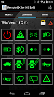 Screenshot of Remote EX for NISSAN
