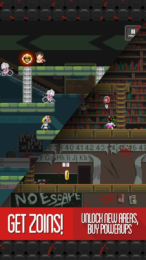 The Tapping Dead - Platformer - screenshot