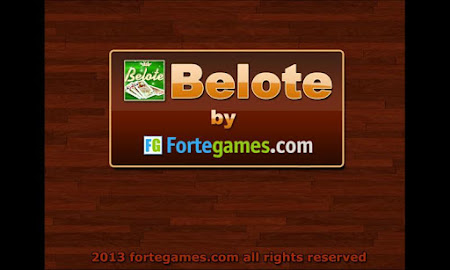 BELOTE BY FORTEGAMES ( BELOT ) beta 0.2.2 screenshot 250507