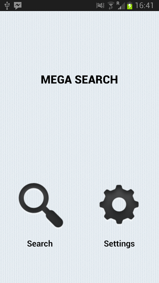 Mega Search - screenshot