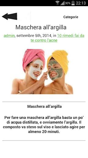 Terapia dell'acne