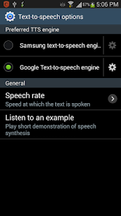Talk it - Text to Speech- screenshot thumbnail
