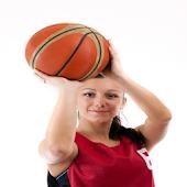 Girls Basketball Card Paid