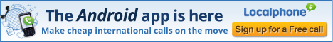 android, app, cheap international calls, localphone