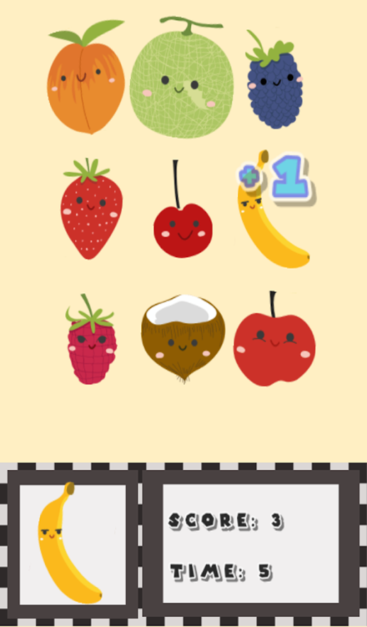 Find the Fruits !- screenshot