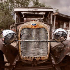 Focus on Ford by Flavio Mini - Transportation Automobiles ( old, classic car, automobile, rusty, ford,  )