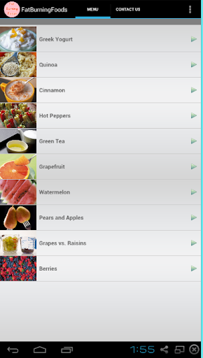 【免費健康App】Fat Burning Foods-APP點子