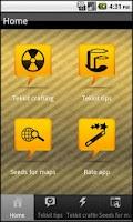 Screenshot of Tekkit guide for Minecraft