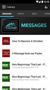 Calvary Baptist Church App - screenshot thumbnail