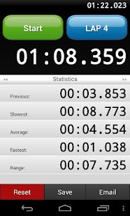 Talking Stopwatch - screenshot thumbnail