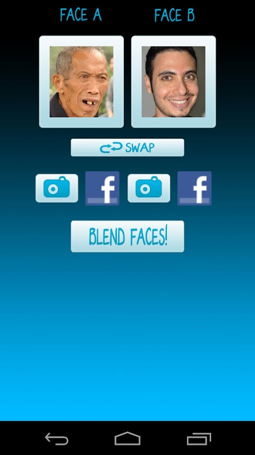 Face Blender - Photo Booth- screenshot
