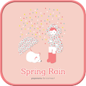 Spring Rain GO launcher theme icon