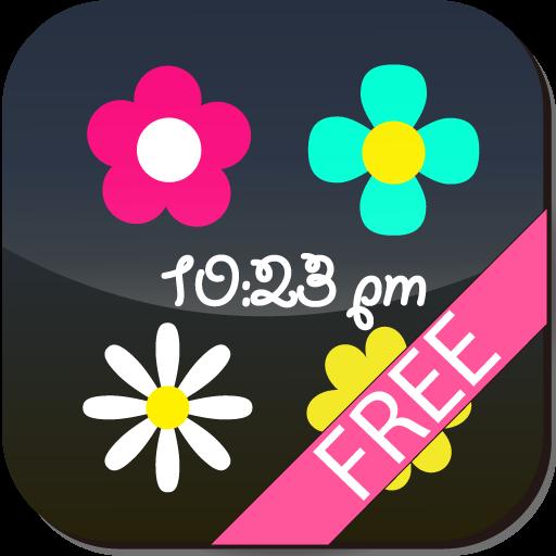 [Free]Flower Flow! CustomClock