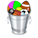 Bucket Toss icon
