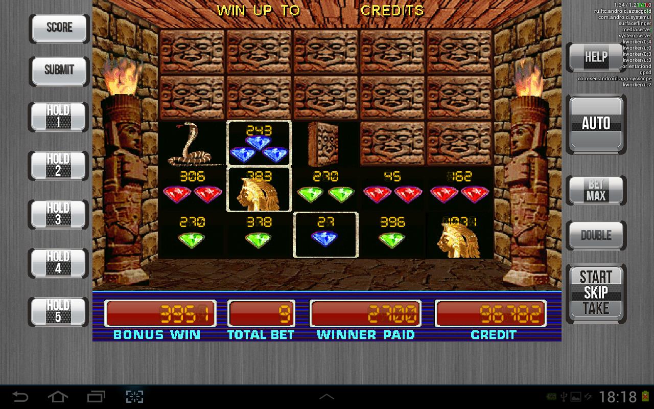 Slot actek gold