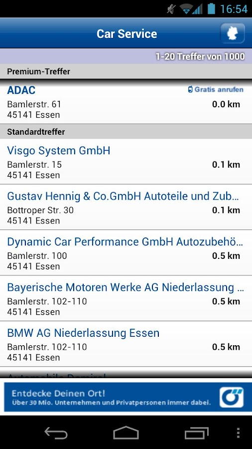 KFZ-Service Deutschland - screenshot