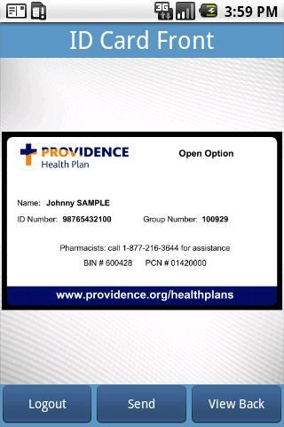 Providence E-Card- screenshot