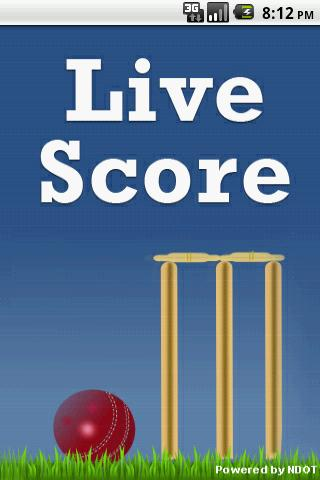 Cricket Live Score- screenshot
