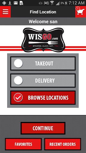 WisGo Food Delivery Takeout