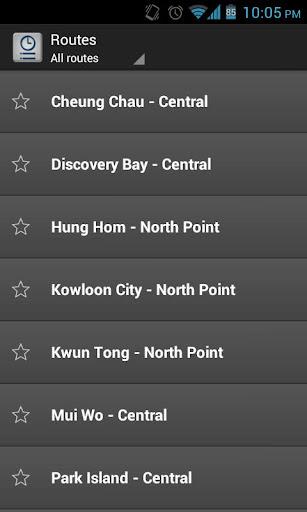 香港渡輪資訊
