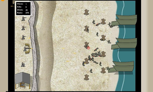 Beach War Enemy Invasion