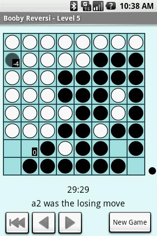 Booby Reversi Lite- screenshot