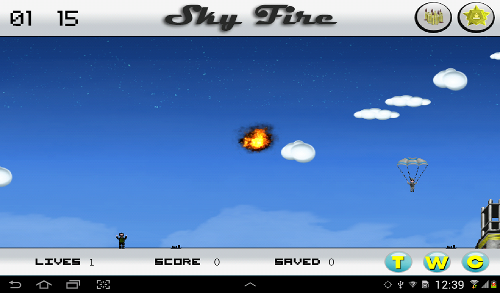 Sky Fire - screenshot