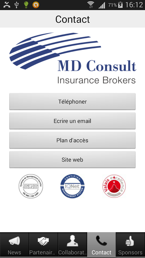 MD Consult- screenshot