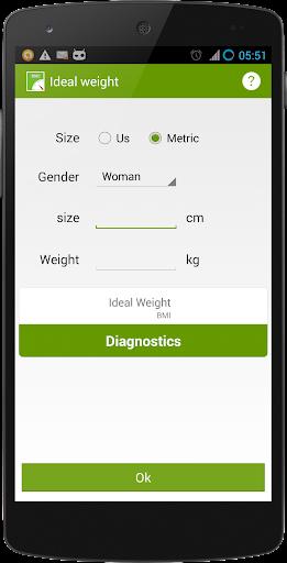 理想體重 - 體重指數