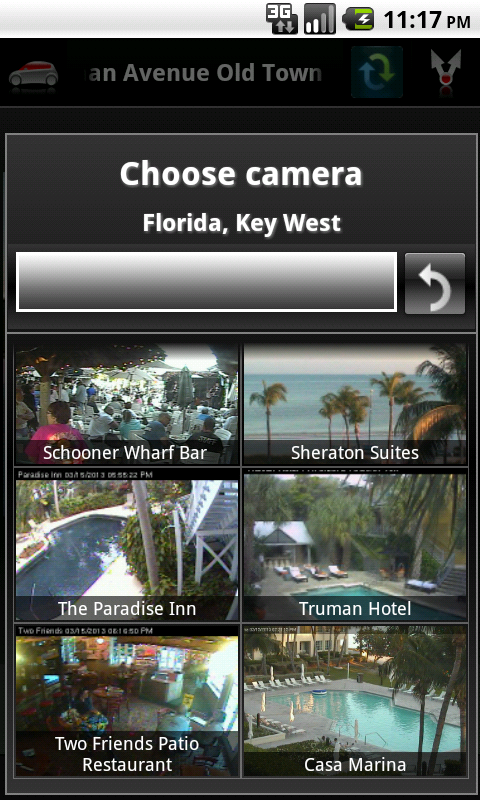 Cameras US - screenshot