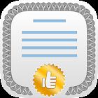 Certificate Maker! Diploma etc icon