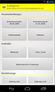 kfz steuer rechner pro app report on mobile action. Black Bedroom Furniture Sets. Home Design Ideas