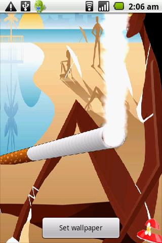 Sexy Beach Cigarette Live