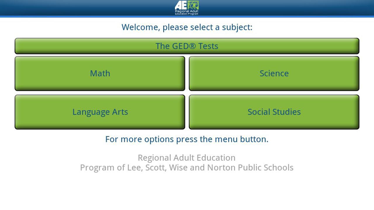 Regional Adult Ed - GED®- screenshot