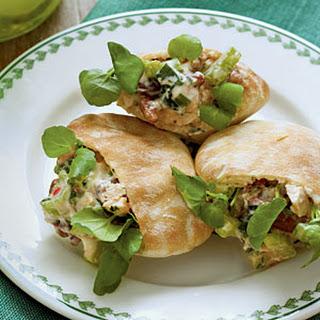 Chicken Salad Pitas.