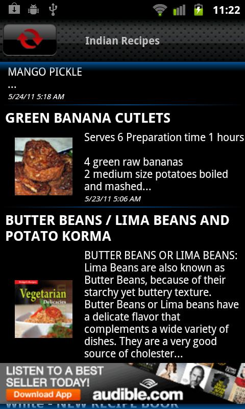 Indian Recipes - screenshot