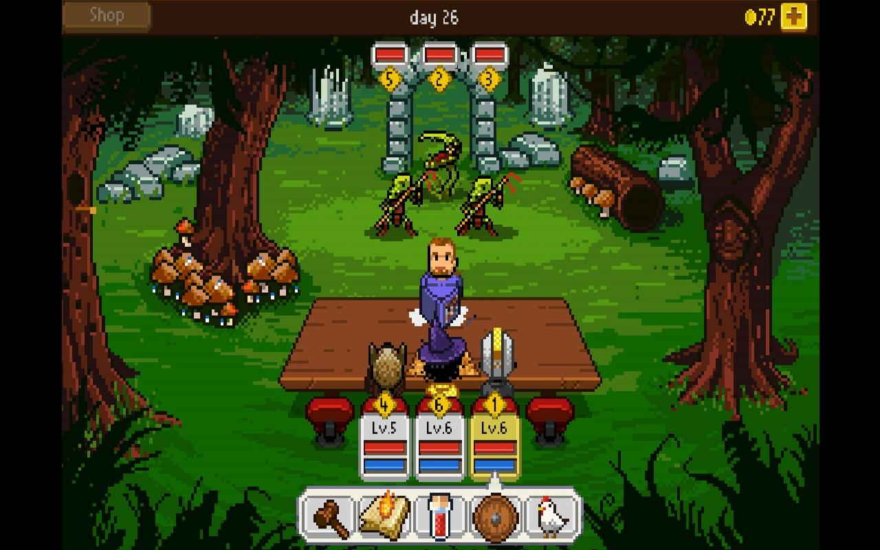Knights of Pen & Paper +1 screenshot #7