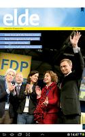 Screenshot of elde