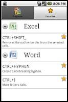 Screenshot of Quickcuts
