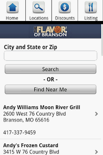 Branson Restaurants- screenshot thumbnail