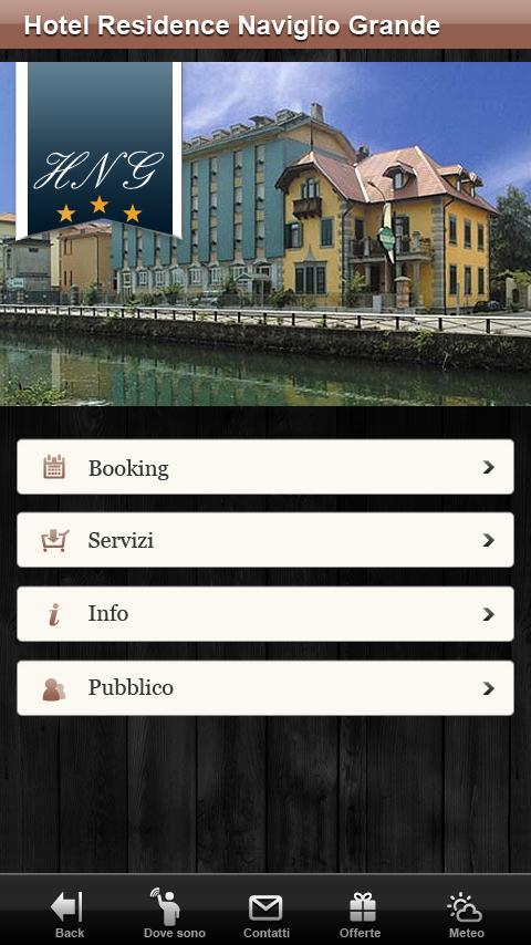 Hotel Naviglio Grande Milan- screenshot