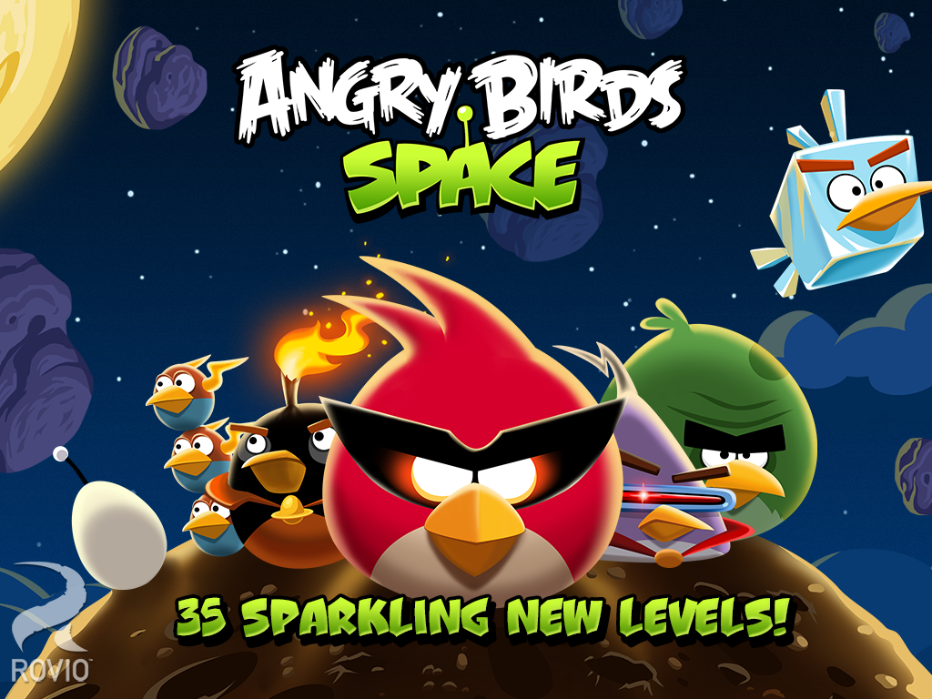 Angry Birds Space HD - screenshot
