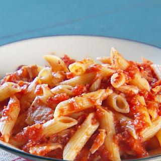 Tuna Tomato Pasta.