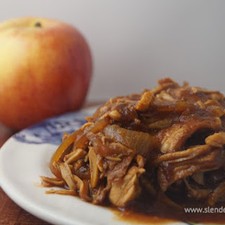 Apple BBQ Pulled Turkey