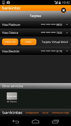 BANKINTER pagos TVM