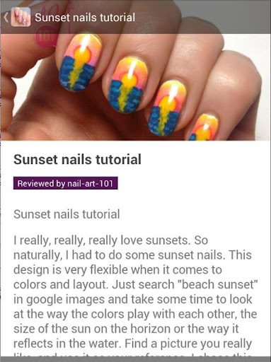 Nail Art Design Tutorial