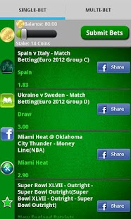 Pocket Sportsbook - Bookie App- screenshot thumbnail