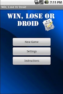Win, Lose Or Droid - screenshot thumbnail