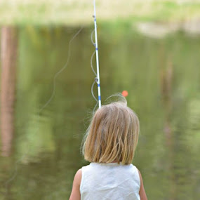 fishing by Todd Nugent - Babies & Children Child Portraits