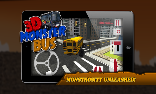 3D Monster Bus Simulator 2015